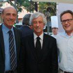 Gianni Rivera e Pierino Prati al gran Galà Rossonero
