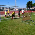 Allenamento tecnologico del portiere all'AC Milan Junior Camp