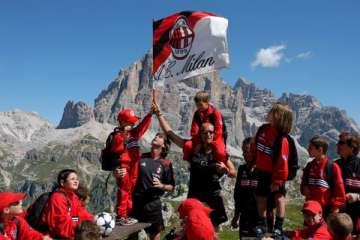 AC Milan Camp montagna