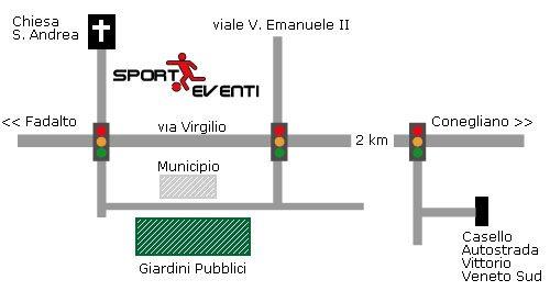 Mappa dove è Sporteventi