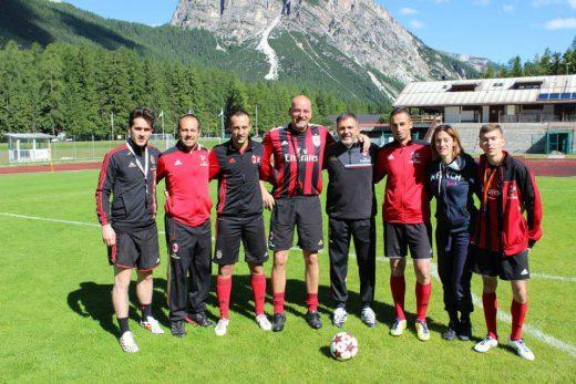 Fulvio Fiorin and the Sporteventi training Staff