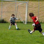 AC Milan Camp allenamento parata