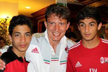 Stefano Eranio AC Milan Camp