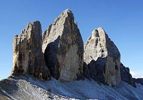 Dolomiti, Tre cime di Lavaredo