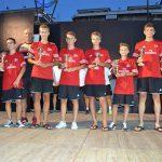 Milan Junior Camp Premiazione coppe