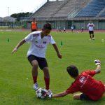 Allenamento campo AC Milan Jesolo