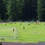 Campo calcio AC Milan Cortina