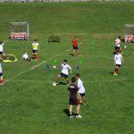 Allenamento AC Milan campo Cortina