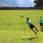 Allenamento portieri AC Milan Campo