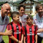 Filippo Galli AC Milan Camp Cortina