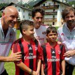 Filippo Galli AC Milan Camp Cortina