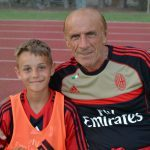 Pierino Prati AC Milan Camp Jesolo