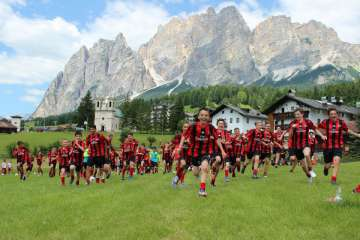 Milan Junior Camp Cortina d'Ampezzo
