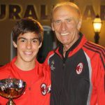 Pierino Prati coppa AC Milan Camp Asiago