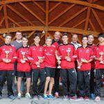 Premiazioni AC Milan Camp Cortina