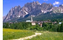 Cortina d'Ampezzo Dolomites Alps
