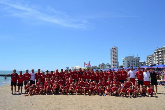 AC Milan Junior Camp spiaggia di Jesolo