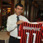 Cena annuale Sporteventi maglia di Ibrahimovic