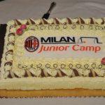 Torta cena Milan Junior Camp