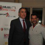 Pietro Marchioni alla cena AC Milan Junior Camp Sporteventi