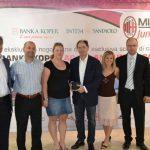 Milan Junior Camp a Koper Slovenia con Franco Baresi