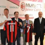 Maglie dell'AC Milan al Milan Junior Camp