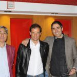 Massimiliano Allegri AC Milan con Pietro Marchioni e Michele Marchioni Sporteventi