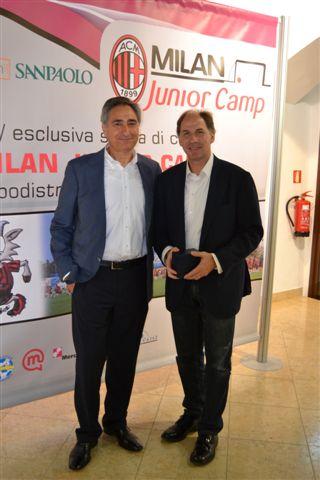 Pietro Marchioni Sporteventi e Franco Baresi AC Milan