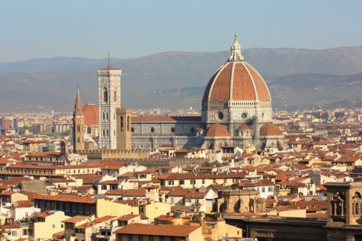 Brunelleschi's Cupola, Florence Cathedral, Italy