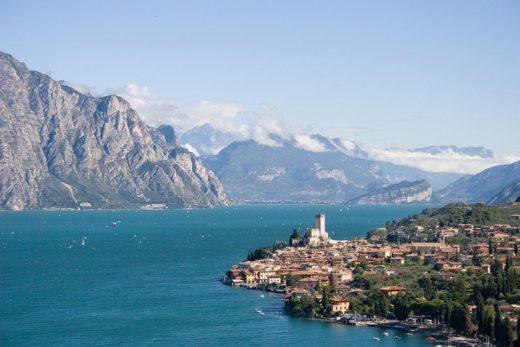 Lago di Garda, Malcesine, Verona, Italia