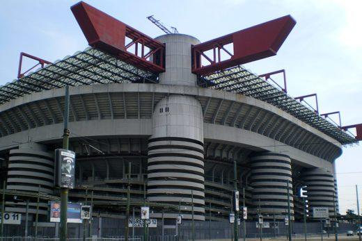 Stadio Giuseppe Meazza, Stadio San Siro, Milano, Italia