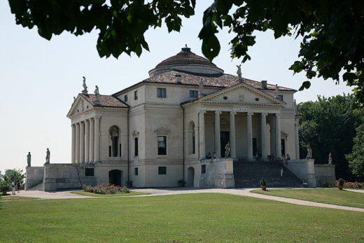 Villa La Rotonda o Villa Capra di Palladio, villa palladiana a Vicenza, Italia