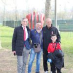 Pierino Prati and Pietro Marchioni at AC Milan Junior Camp Day 2017