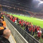 AC Milan Junior Camp Day, children in the Meazza Stadium San Siro