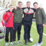 Sporteventi staff at AC Milan Junior Camp Day 2017
