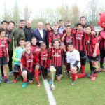 Sporteventi boys and girls at AC Milan Junior Camp Day 2017