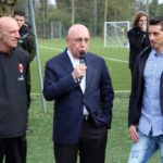 Prati, Galliani and Sosa at AC Milan Junior Camp Day 2017