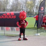 Red-black devil at AC Milan Junior Camp Day