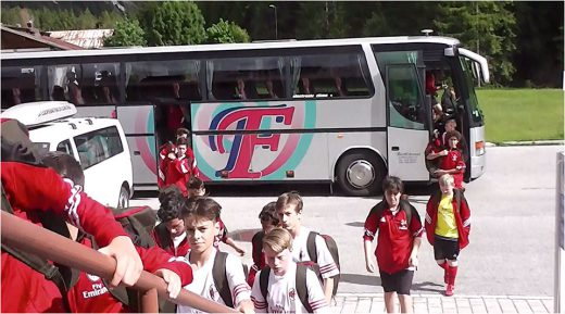 Trasporto privato campisti Milan Junior Camp