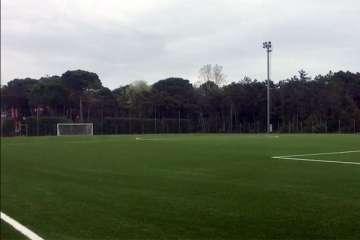 Campo di calcio dell'AC Milan Academy Junior Camp di Lignano Sabbiadoro (Udine)