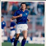 Pietro Vierchowod con la maglia dell'Italia