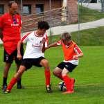 Walter De Vecchi follows two boys of the AC Milan Camp during teh training