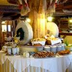 Frühstück im Hotel Gaarten in Gallio (Hochebene von Asiago)