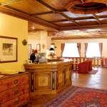 Hotelhalle des Hotel Gaarten in Gallio (Hochebene von Asiago)
