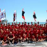 Children of the AC Milan Academy Camp at the Hotel Tokio in Jesolo Lido (Venice)