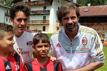 Filippo Galli AC Milan Camp
