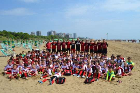 AC Milan Camp Lignano Sabbiadoro seaside