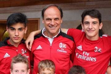 Walter De Vecchi AC Milan Junior Camp