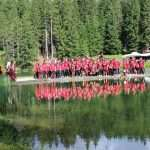 AC Milan holiday at Cortina Dolomites Alps