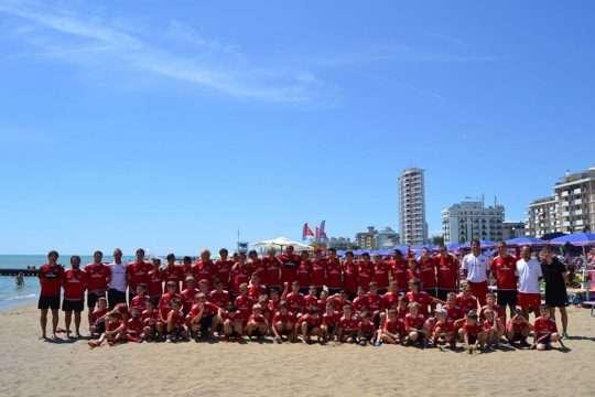 Jesolo Venice seaside AC Milan Camp
